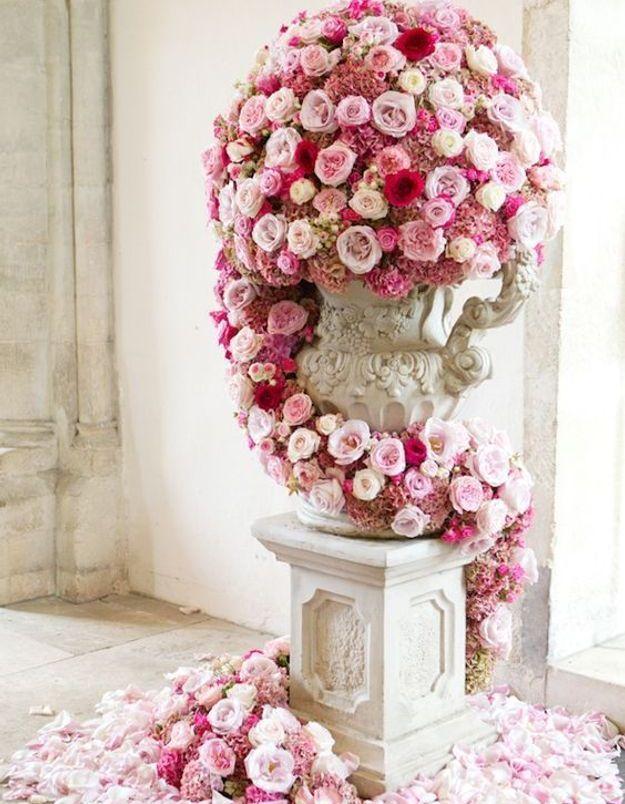 Bouquet de roses de couleur