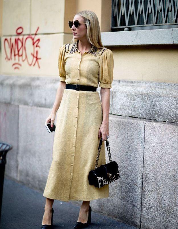 Une jolie robe rétro