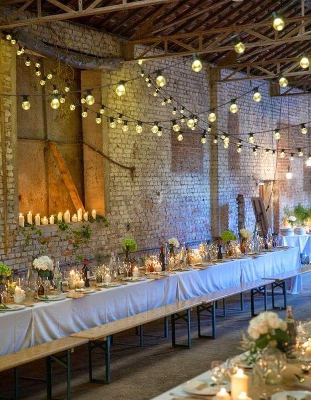 Mariage champêtre décoration