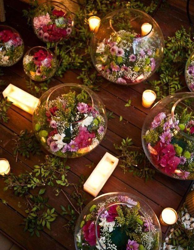 Mariage champêtre et décoration florale