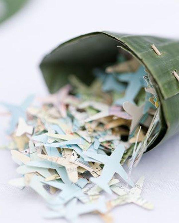 Confettis de mariage à petit prix