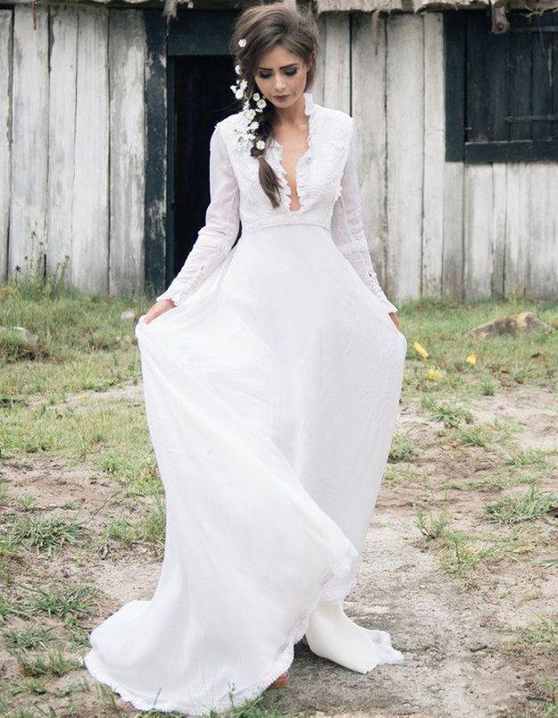 Robe de mariée esprit vintage