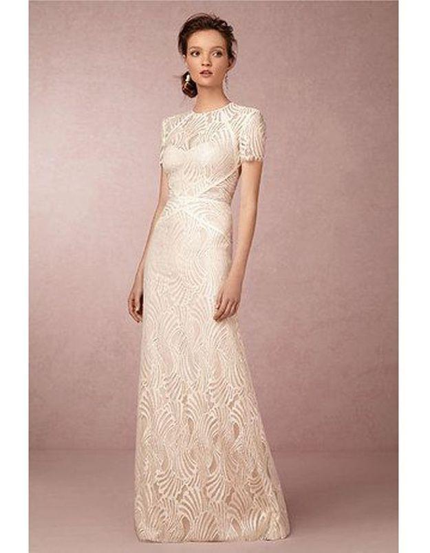 Robe de mariée vintage années 40