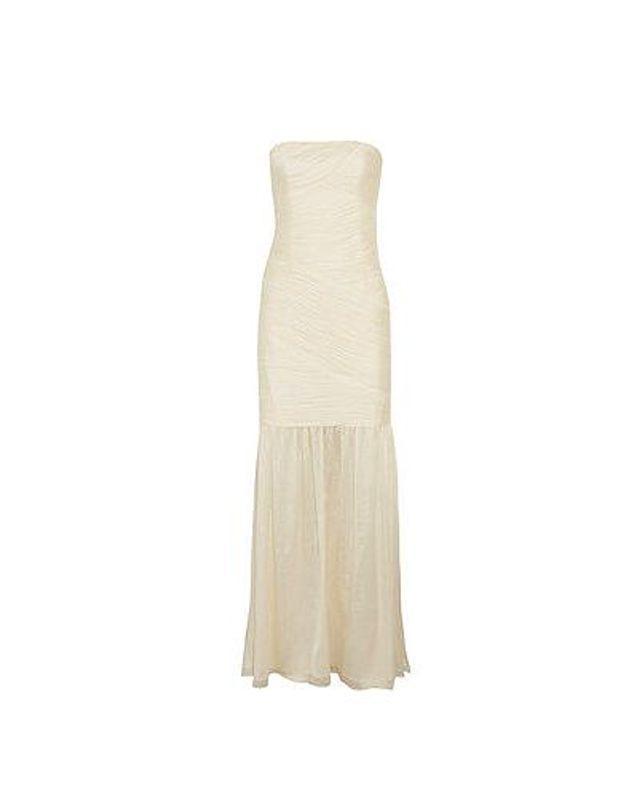 Robe de mariée Halston heritage