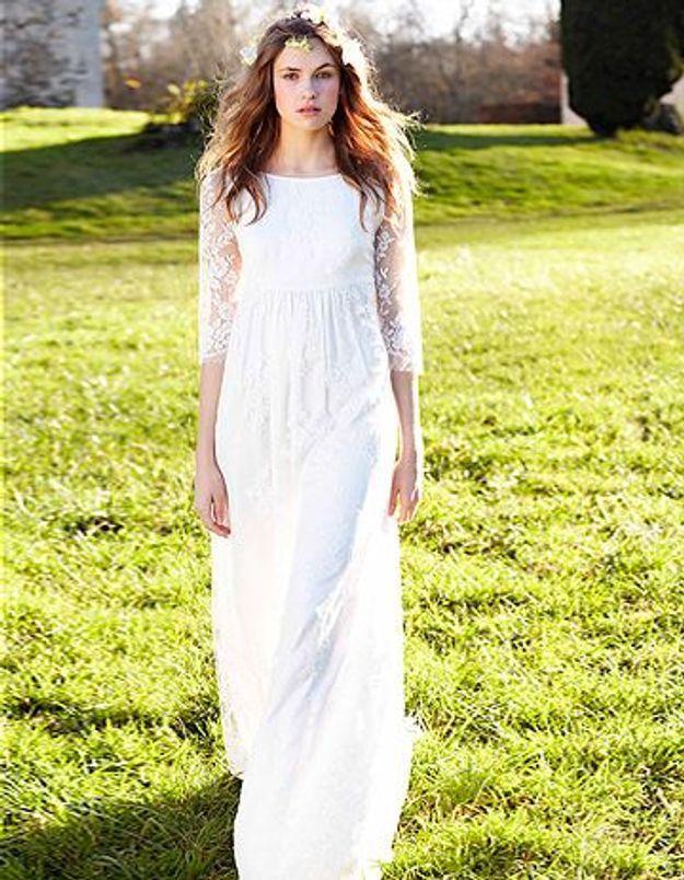 Gagnez une robe de mariée Delphine Manivet pour la Redoute