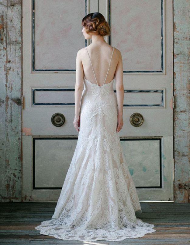 Robe de mariée créateur américain Sareh Nouri