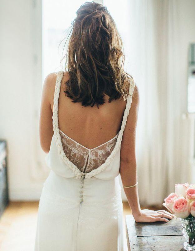 Robe de mariée créateur français Sophie Sarfati