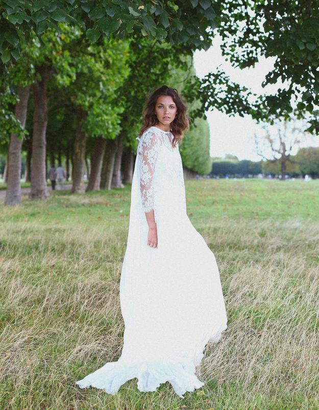 Robe de mariée créateur Île de France Adeline Bauwin