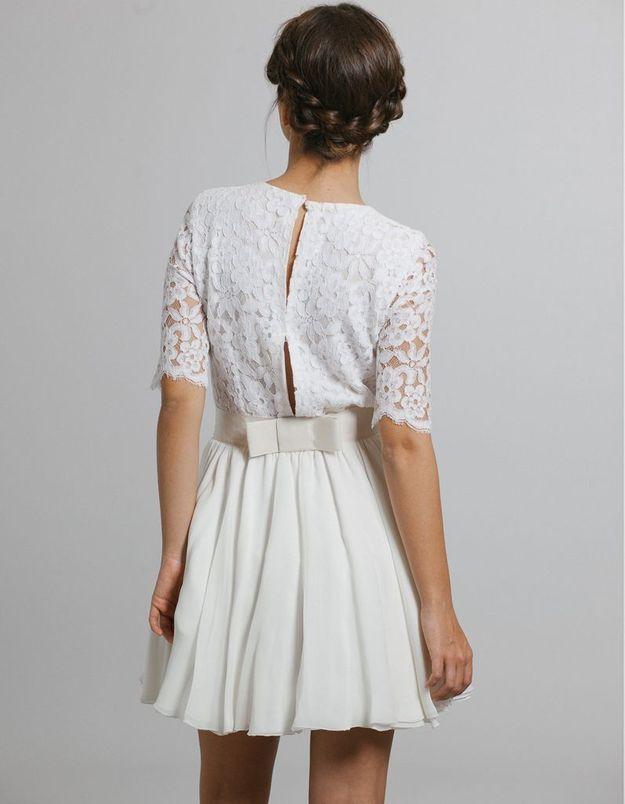 Robe de mariée créateur Maison Floret