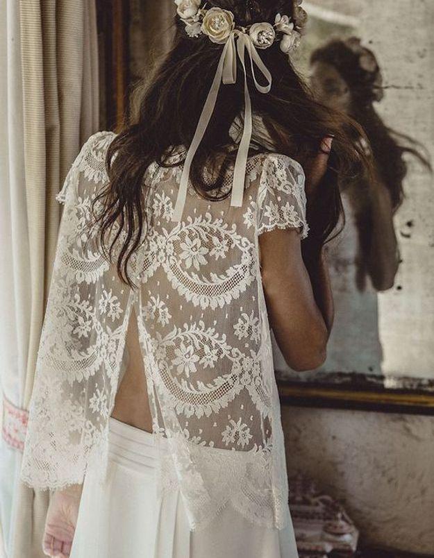 Robe de mariée dentelle 2016