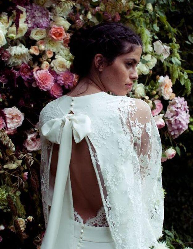 Robe de mariée dentelle tendance