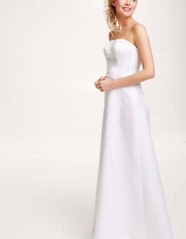 Robe de mariée Tati