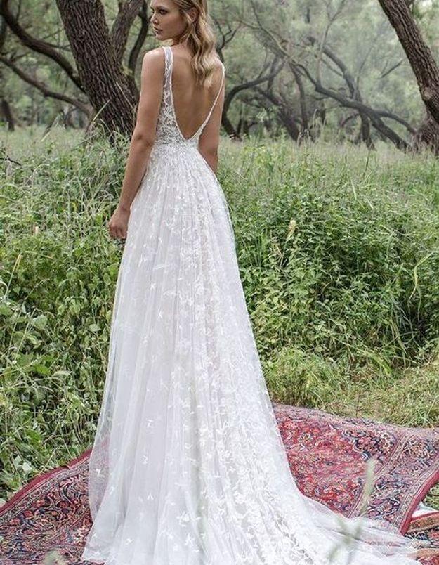 Robe de mariée princesse romantique