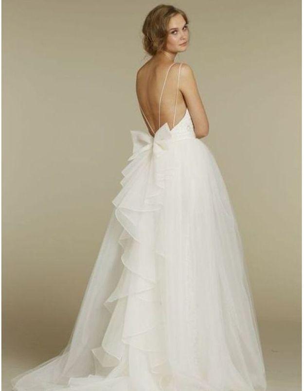 Robe de mariée de princesse bouffante