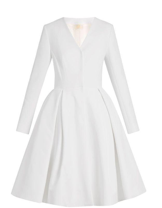 Robe de mariage civil Sara Battaglia