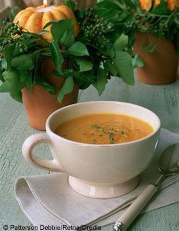 Commencez par une soupe