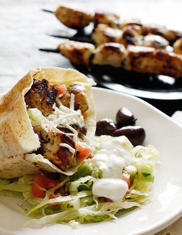 Combien de calories dans un kebab ?