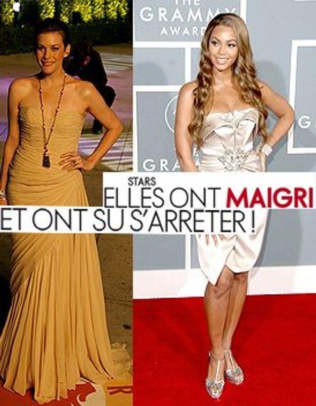 Stars : elles ont maigri et ont su s'arrêter !