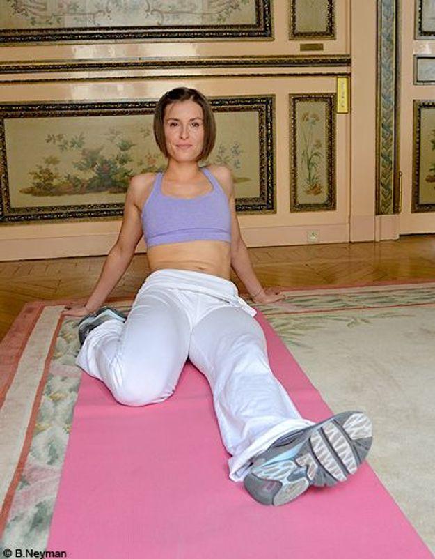 Minceur sport exercices coach julie ferrez affiner jambes etirement 2