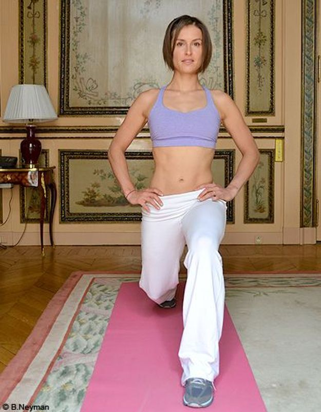 Minceur sport exercices coach julie ferrez affiner jambes exo 1 2