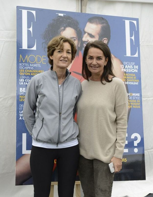 Isabelle Juppé et Constance Benqué, CEO ELLE France et International
