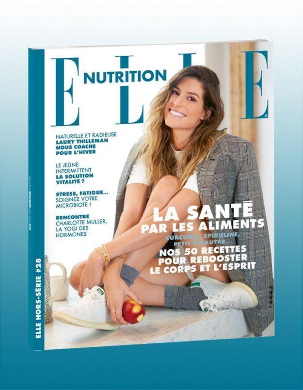 ELLE Nutrition : plaisir, vitalité et équilibre… Laury Thilleman nous livre ses secrets
