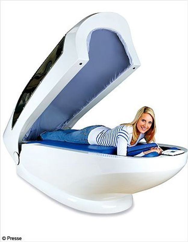 J'ai testé le massage dans « l'œuf minceur »