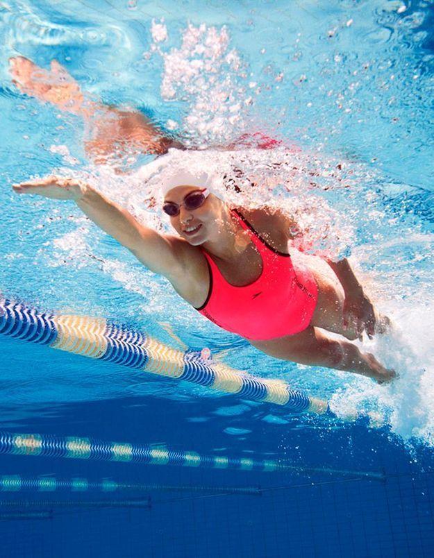 Des séances de coaching avec des nageurs professionnels
