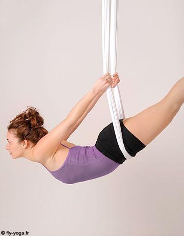 J'ai testé le Fly yoga