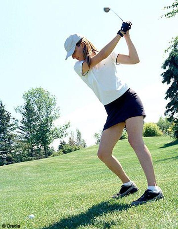 Le golf, c'est bon pour la santé