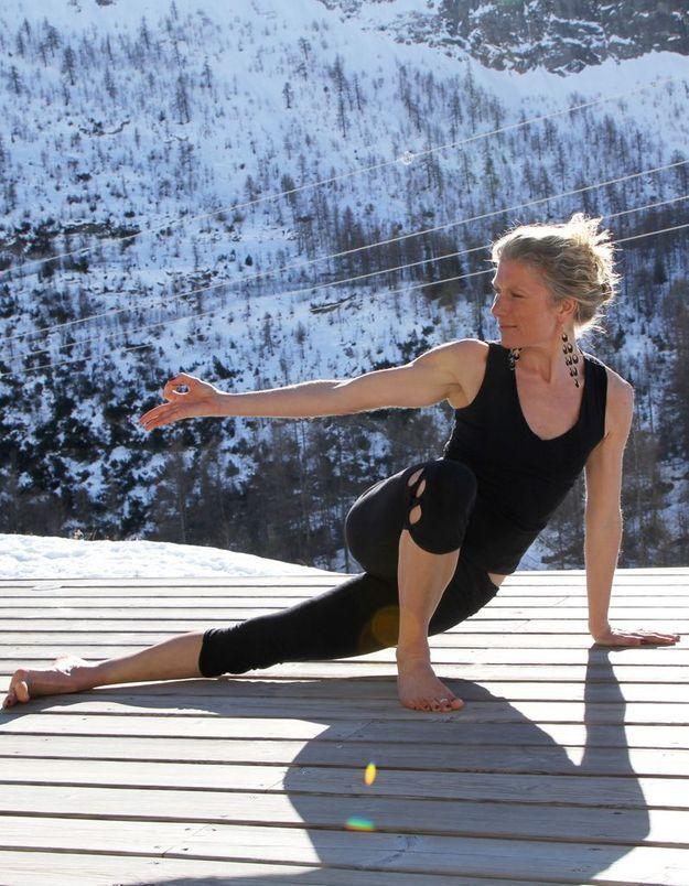 Le Yoga célébré à Val d'Isère