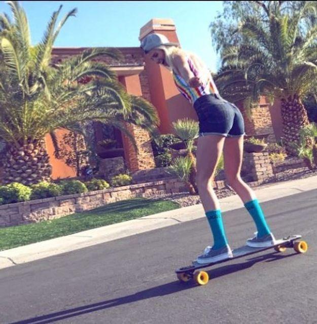 Alexandra Rosenfeld au skate