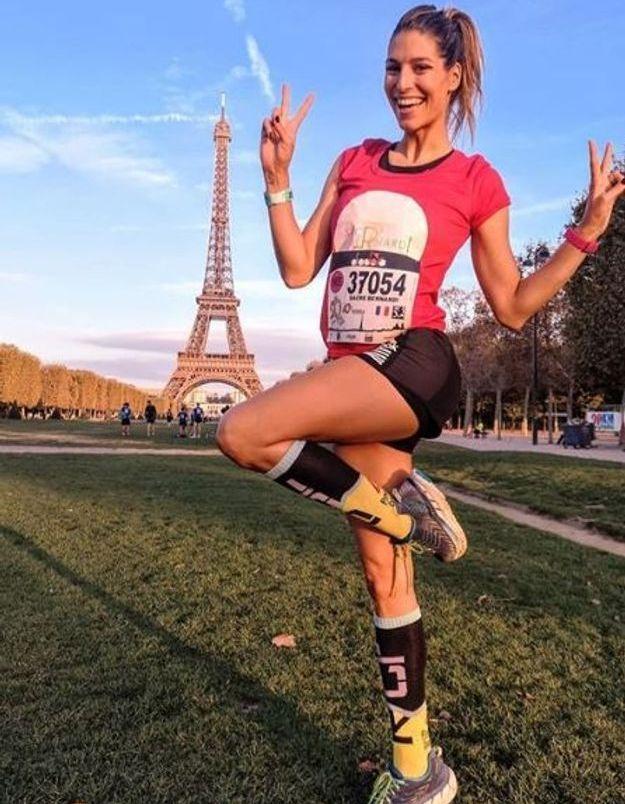 Laury Thilleman pour un marathon