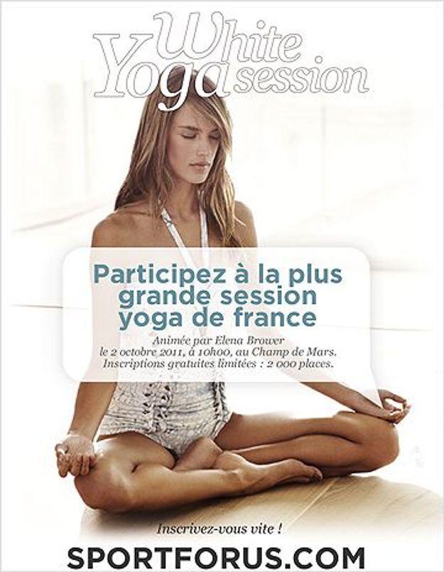 Rendez-vous au plus grand rassemblement de yoga de France