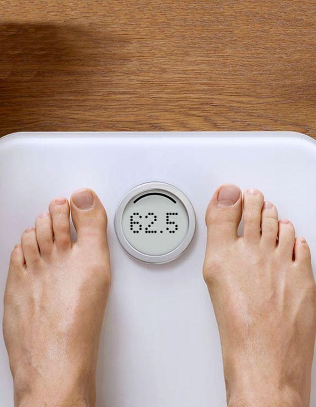 Un pèse-personne intelligent et connecté