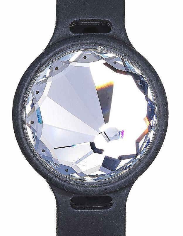 Montre connectée en cristal Swarovski