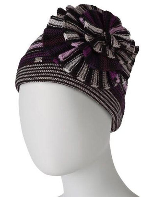 Accessoires en mailles bonnet sonia rykiel
