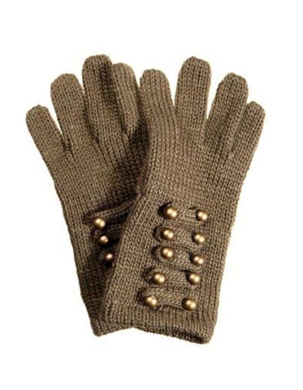 Accessoires en mailles gants Officier CA