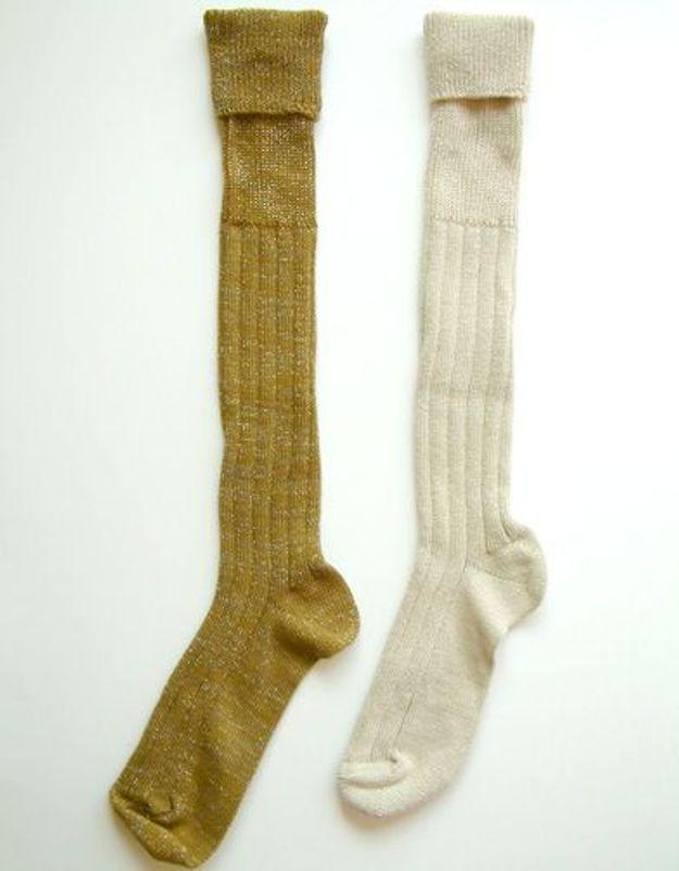 Chaussettes montantes polder