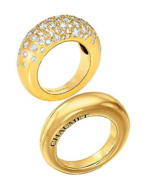 Mode guide shopping bijoux joaillerie luxe bague chaumet