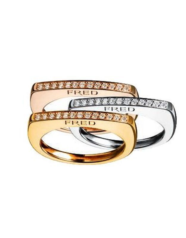 Mode guide shopping bijoux joaillerie luxe bague fred