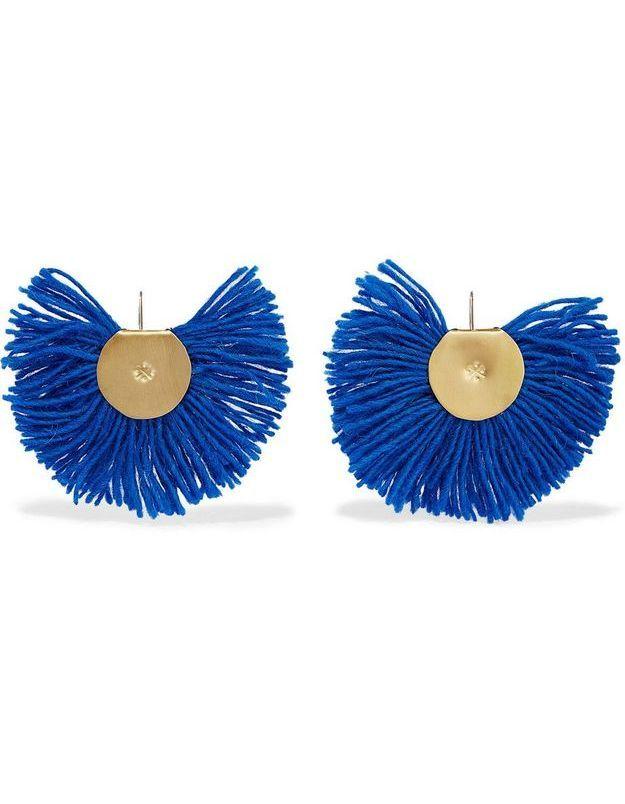 Bijoux ethniques bleus Katerina Makriyianni