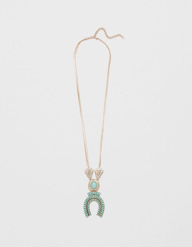 Bijoux ethniques long Zara