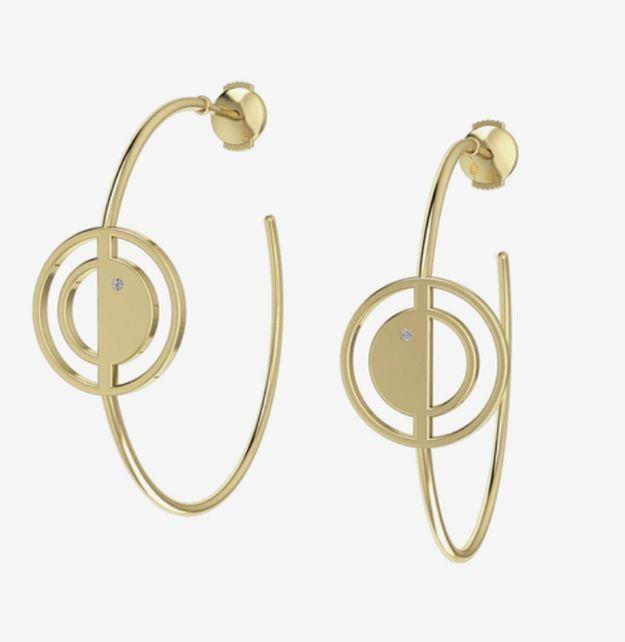 Boucles d'oreilles géométriques Innoncent Stone