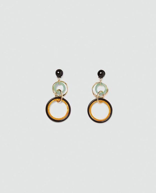 Boucles d'oreilles géométriques Zara