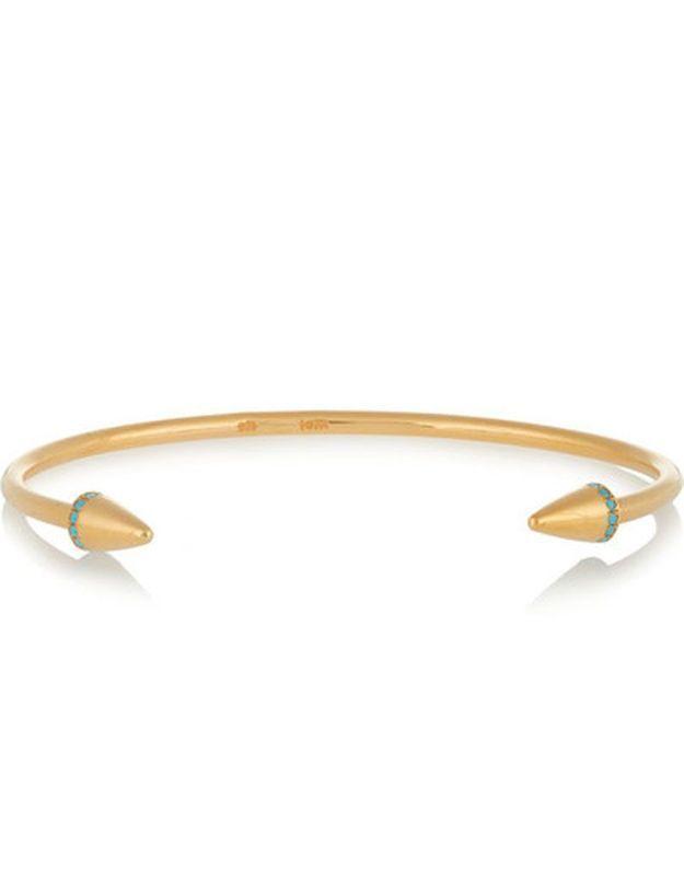 Bracelet jonc à zircons Iam by Ileana Makri