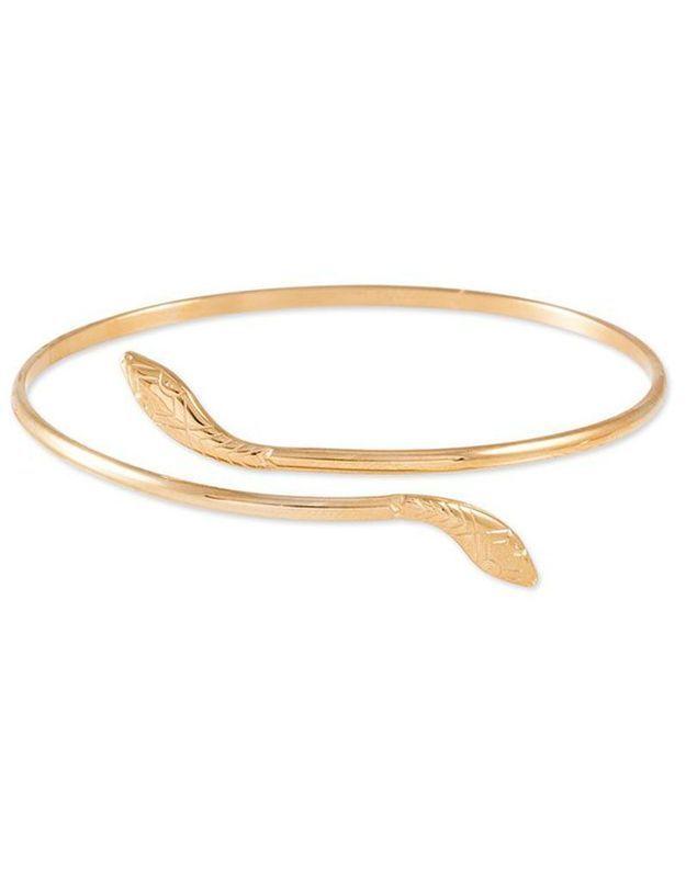 Bracelet jonc serpent Histoire d'or