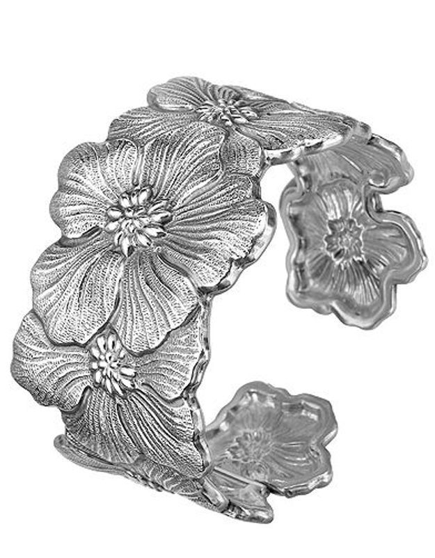 Mode guide shopping bijoux joaillerie luxe bracelet manchette buccellati