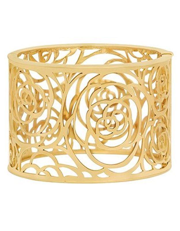 Mode guide shopping bijoux joaillerie luxe bracelet manchette chanel