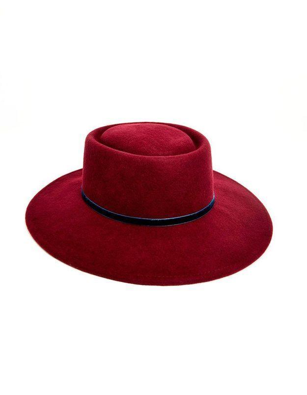 Chapeau en velours Asos